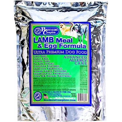 Brothers Complete Lamb & Egg Advanced Allergy Formula - 10lb