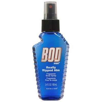 BOD Man Really Ripped Abs Fragrance Body Spray, 3.4 fl oz