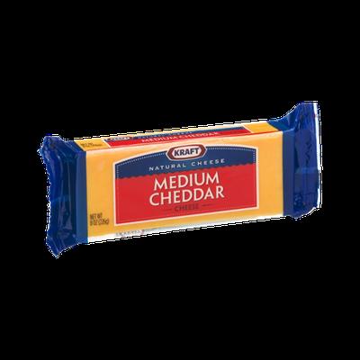 Kraft Medium Cheddar Cheese