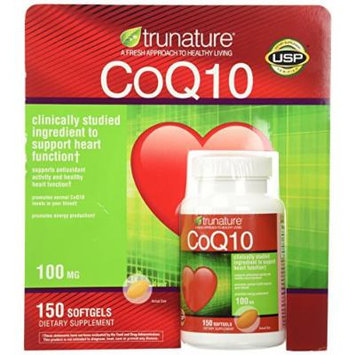TruNature Coenzyme CoQ10 100 mg - 150 Softgels Personal Healthcare / Health Care