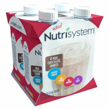 ONLY 1 IN PACK Nutrisystem Milk Chocolate Shake, 4 Count