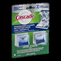 Cascade Dishwasher Cleaner - 2 CT