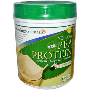 Growing Naturals Yellow Pea Protein - Vanilla Blast - 16 oz - Pack Of 1