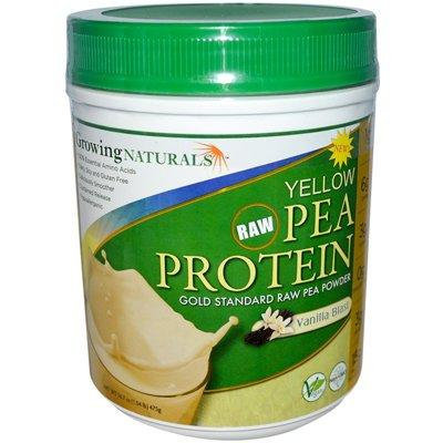 Growing Naturals Yellow Pea Protein - Vanilla Blast - 16 oz - Pack Of 1