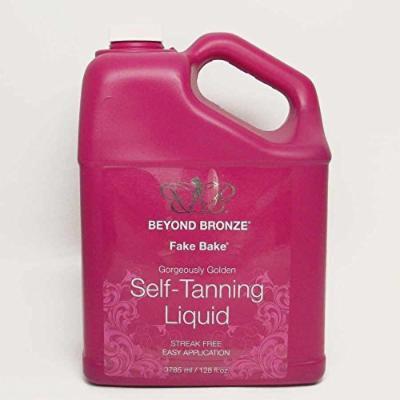 Fake Bake BEYOND BRONZE Self-Tanning Solution - 128 oz.