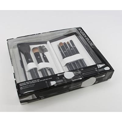 Classic handmade deluxe travel brush set and case limited edition