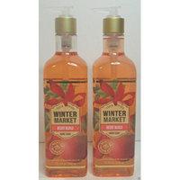 Bath & Body Works Winter Market Merry Mango Hand Soap 15.5 Oz (Set of Two)