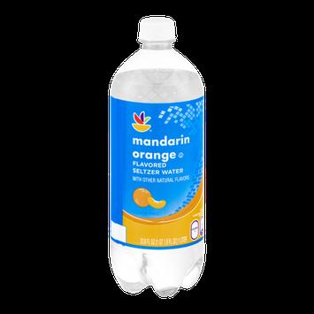 Ahold Flavored Seltzer Water Mandarin Orange