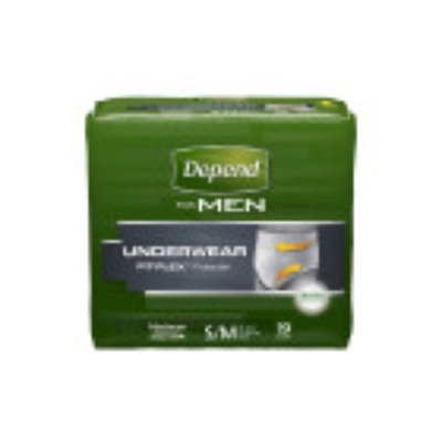 Depends Depend for Men Incontinence Underwear, Maximum Absorbency, Small/Medium