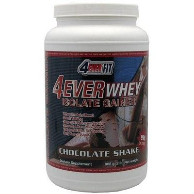 4Ever Fit 4Every Whey Isolate Gainer, Chocolate Shake, 2 Pounds