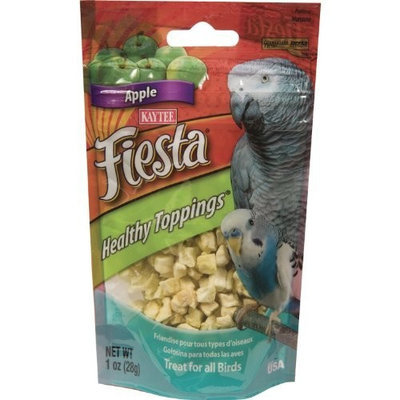 Kaytee Fiesta Healthy Topping Apple Bits for All Birds, 1-Ounce