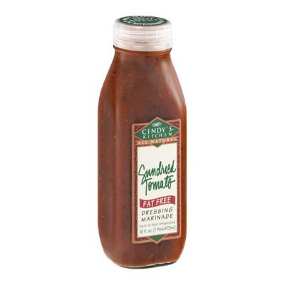 Cindy\'s Kitchen Dressing Marinade Sundried Tomato Fat Free Reviews