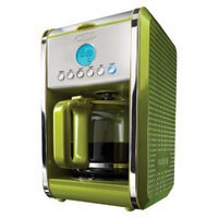 Bella Dots Programmable Coffee Maker - Lime Green