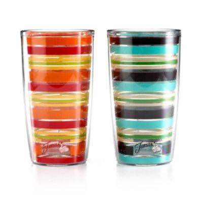 Fiesta Drinkware, Stripe Tumbler
