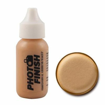Photo Finish Airbrush Makeup - Foundation-1.0 Oz Cosmetic Face- Choose Color (Golden Matte)