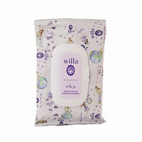 Willa On the Go Gentle Cleansing Lavender Face Towelettes