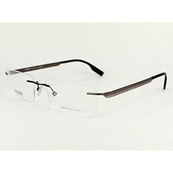 Hugo Boss eyeglasses BOSS 0435 ASY Metal Grey