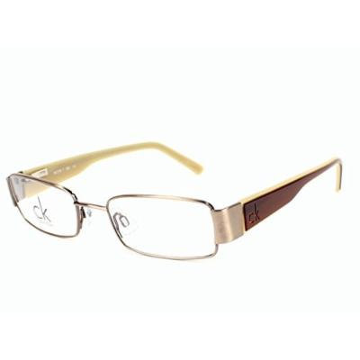 CK Calvin Klein eyeglasses CK5218 250 Metal Brown