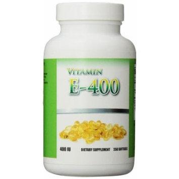 Eden Pond Vitamin E-400 D-Alpha with High Power Absorb Supplement, 250 Count