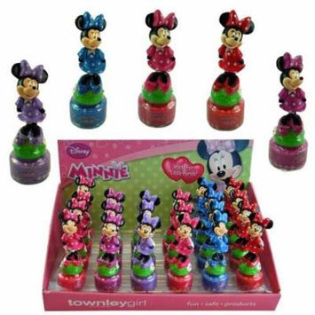 Minnie Mouse Figure Nail Polish Set x 6 bottles