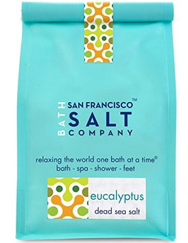 San Francisco Salt Company - Dead Sea Mineral Bath Salt Eucalyptus - 28 oz.