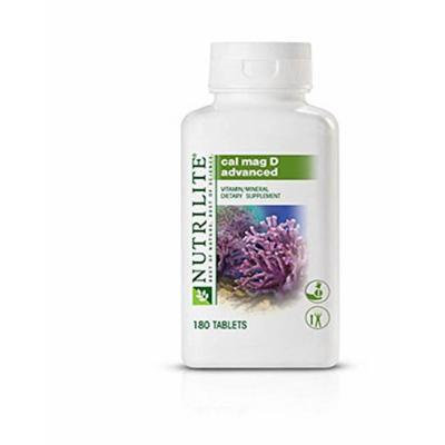 NEW Nutrilite Cal Mag D Advanced 180 Tablets Prevent Osteoporosis with Calcium and Vitamin D Shipped from USA