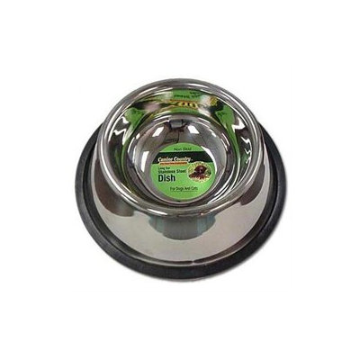 Petedge No-Tip Non-Skid Stainless Steel Bowl 24Oz.