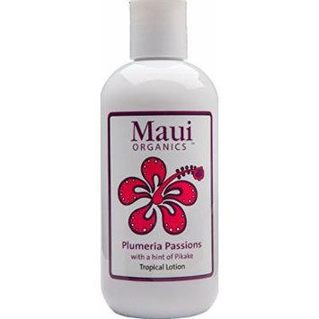 Plumeria Natural Body Lotion Organic Hawaiian Island Essence Maui Plumeria Passions 4pk 34oz