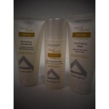 Alfaparf Organic Semi Di Lino Illuminating Mask, Shampoo & Conditioner Trio Trial Size Set 1.69 oz & 2.02 oz