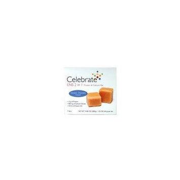 Celebrate ENS 2 in 1 Protein & Calcium Bar Caramel Chocolate Crunch 7 ct box