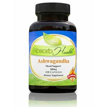 Ashwagandha (10:1) Extract , 500 mg , 100 Capsules , Traditioinal Stress Reducer Herb