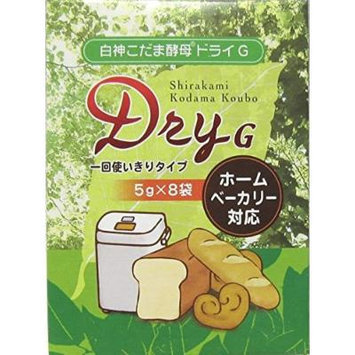 Eight Pioneer Planning Shirokami Kodama Dry Yeast G 5g
