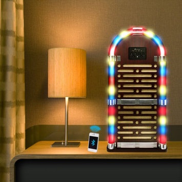 Northwest Big Bluetooth Juke Box Speaker System, Lights