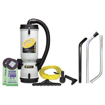 PROTEAM 100277 Backpack Vacuum Cleaner,10 qt,6.2A