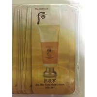 30 X the History of Whoo Samples Jin Hae Yoon Sun Cream 1ml. Super Saver Than Normal Size