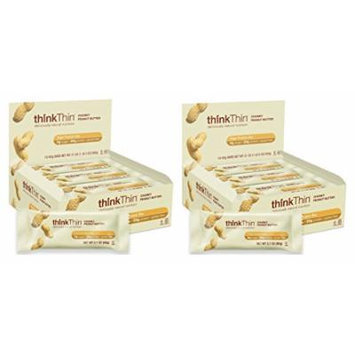 Think Thin 20 Pack (2 X Box of 10)- (Chunky Peanut Butter)