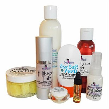 Diva Stuff Aging Skin Care Kit, Wash, Scrub, Creams and More!