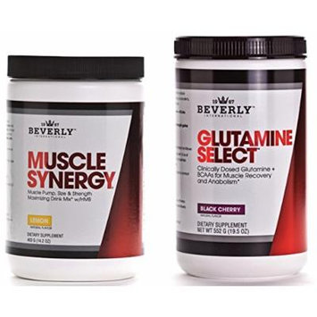 Beverly International Muscle Synergy & Glutamine Select Crossfit Recovery Stack 5% OFF