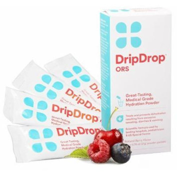 Drip Drop ORS 4 Powder Packs (Berry, Pack of 3)