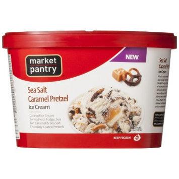 market pantry Market Pantry Sea Salt Caramel Pretzel Ice Cream 1.5-qt.