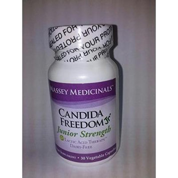 Candida Freedom Junior Strength, 120 mg 30 vcaps