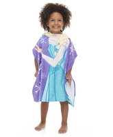 Disney Frozen Girl's Hooded Towel Poncho Elsa - JAY FRANCO & SONS INC.