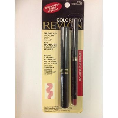 Revlon Colorstay Lipcolor ( Shell #02 ) with Bonus Colorstay Lipliner.