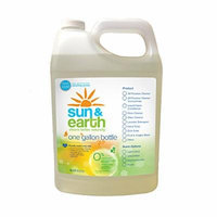 Sun & Earth Extra Concentrated Natural Hand Soap, Fresh Lavender, 128 Ounce (Pack of 2)