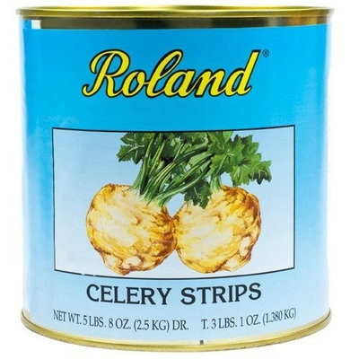 Roland Celery Root Strips - 1 can - 3.1 lbs