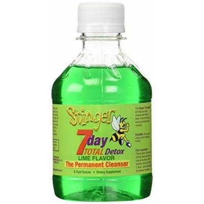 Stinger 7 Day Total Detox 8oz Permanent Cleanser - 1 Week Supply