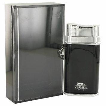Vermeil Black for Men by Vermeil EDT Spray 3.4 oz