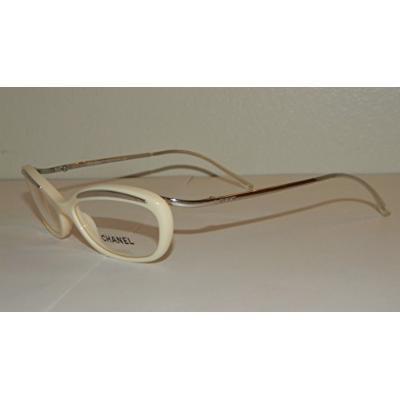 Chanel 3076 Eyeglasses 528 WHITE/ CHROME