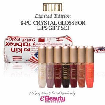 8PC GIFT SET-MILANI Crystal Gloss For Lips