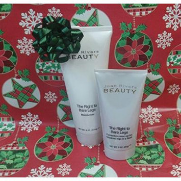 Joan Rivers Beauty the Right to Bare Legs Corrective Cover Up (MEDIUM) and Moisturizer Christmas Gift SET
